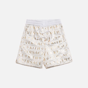 Kith x Versace Nylon Short - Monogram White