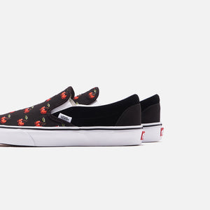 Vans Cherries Classic Slip-On - Black Image 5