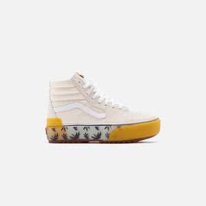 Vans Sk8 High Stacked - Palm Blue / Yellow