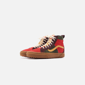 Vans Sk8-High 46 MTE DX - Poinsettia / Forest Night Image 3