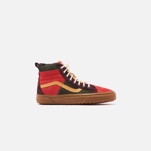 Vans Sk8-High 46 MTE DX - Poinsettia / Forest Night Image 1