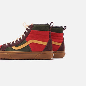 Vans Sk8-High 46 MTE DX - Poinsettia / Forest Night Image 5