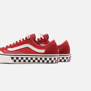 Vans Salt Wash Style 36 Decon SF - Red / Marshmallow Image 5