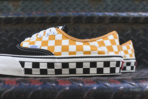 670cce18ea3 Vans Authentic SF Checkerboard - Black   Sunflower – Kith