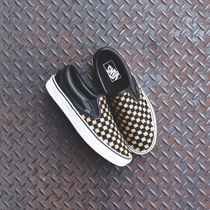 Vans Slip-On - Checkerboard / Black / White