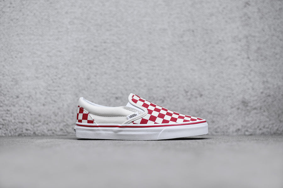 Vans Classic Slip-On - Red / White