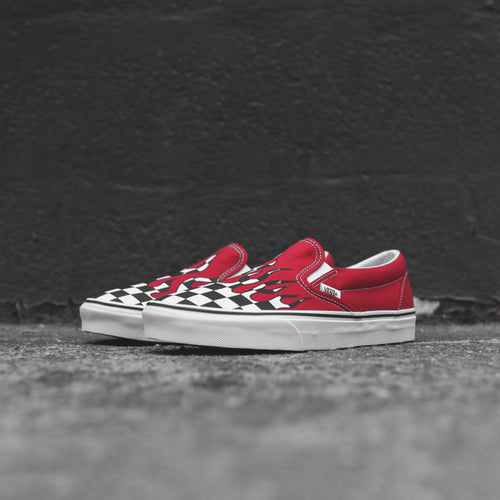 Vans UA Classic Slip-On - Red / Flame