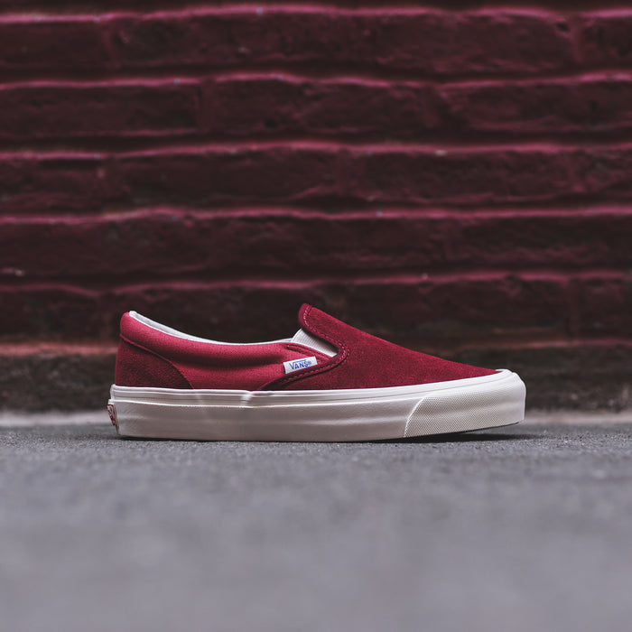 Vans Vault OG Classic Slip-On LX - Sun Dried Tomato / Mineral Red