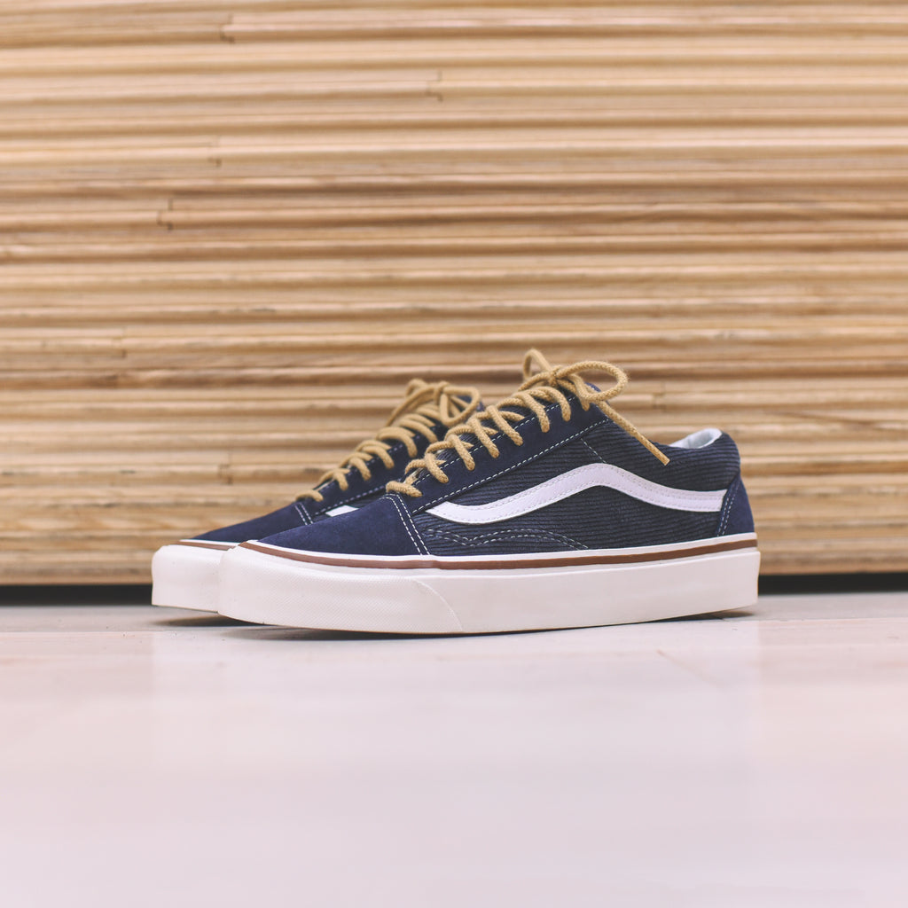 be1eb30a87f Vans Old Skool 36 DX - Navy – Kith