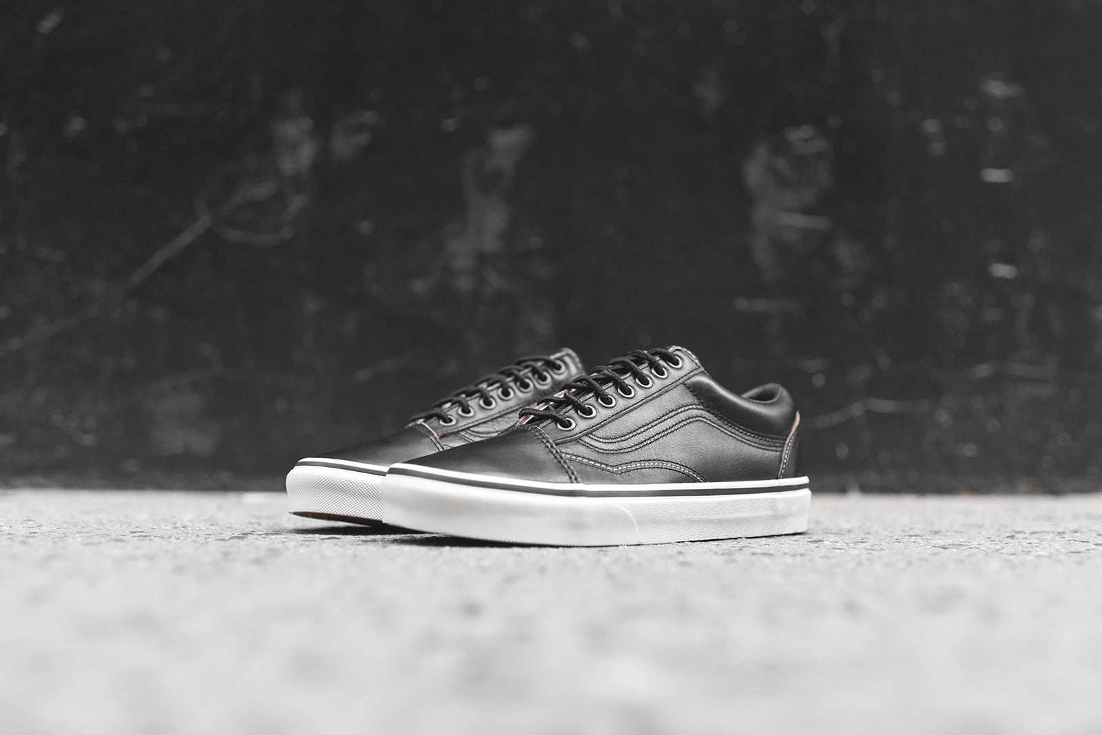 Vans Old Skool Ground Breakers - Black / Marshmallow