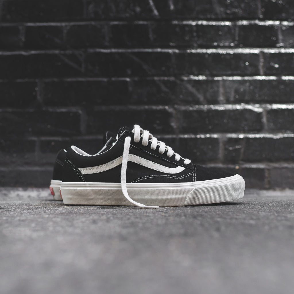 Vans OG Old Skool LX - Black   Marshmallow – Kith 0226c184e
