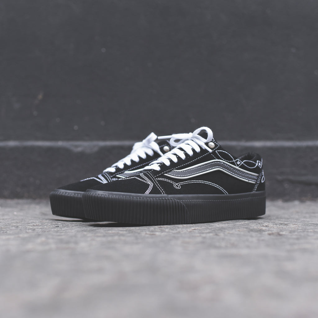 93f992cf851 Vans Old Skool Platform - Pearly Punk Black – Kith