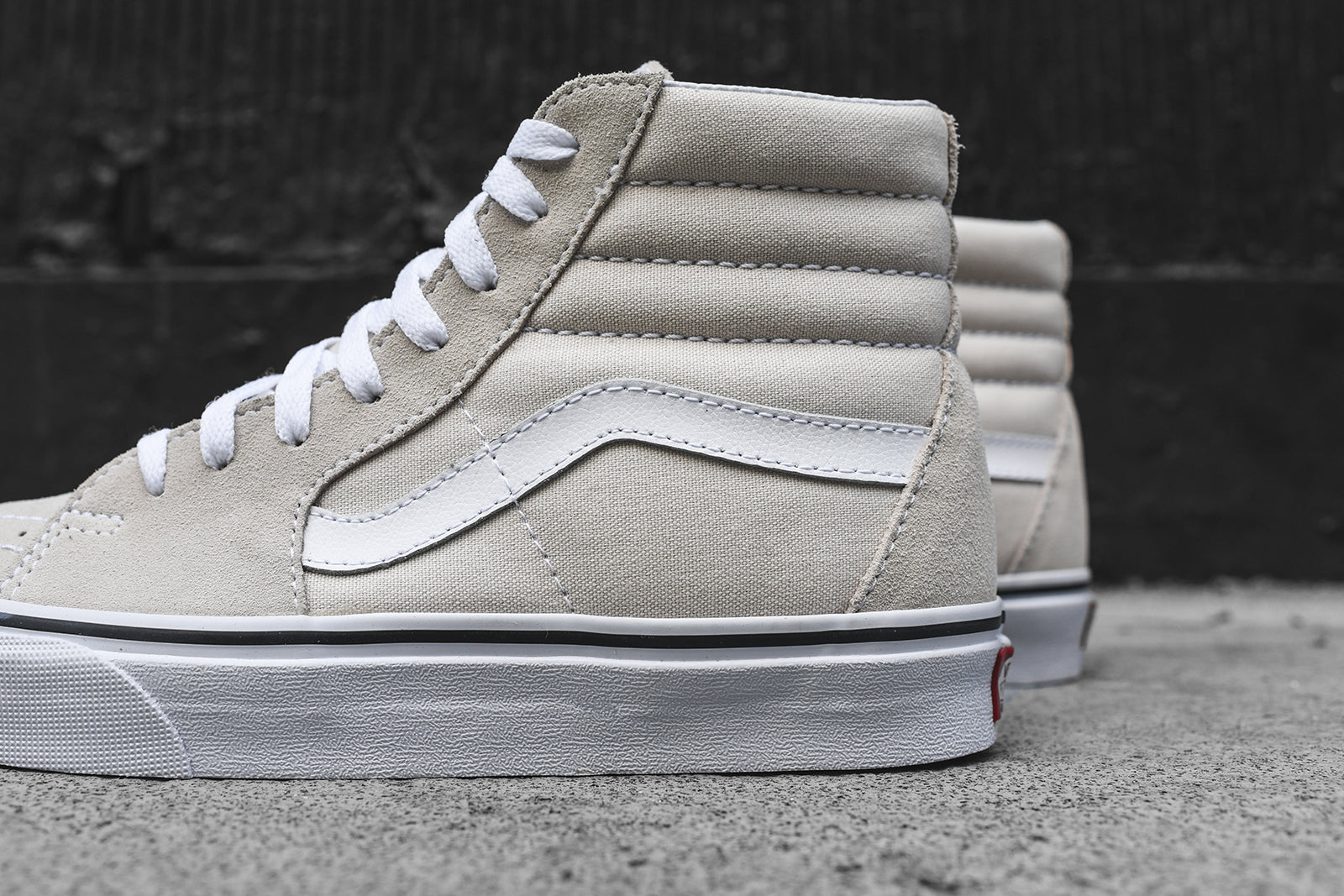 Vans WMNS Sk8-Hi - Birch / True White