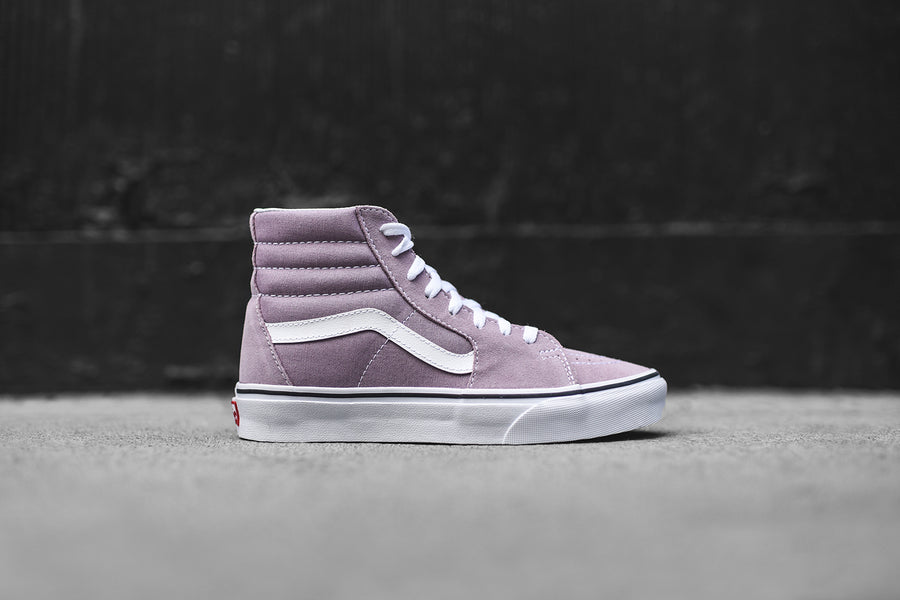 Vans WMNS Sk8-Hi - Sea Fog / True White