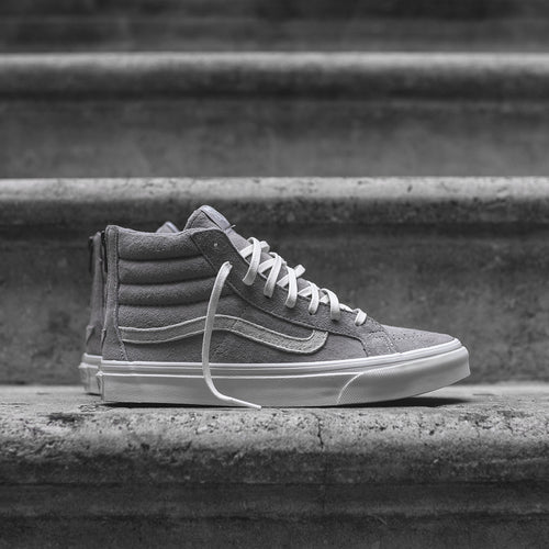 c1e7b95f63 ... Vans WMNS Sk8Hi Slim Zip Scotchgard - Cool Grey ...