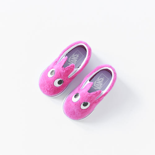 Vans Toddler Slip-On Friend - Party Fur Magenta / True White