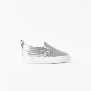 db3b0e6f1cfa Vans Toddler Slip-On Quilted - Silver – Kith
