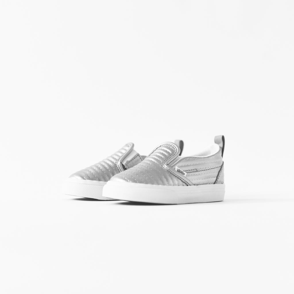 5bfb0f5626d6 Vans Toddler Slip-On Quilted - Silver – Kith