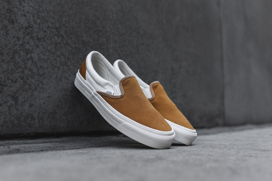 Vans Vault Classic Slip-On LX - Golden Brown / Marshmallow