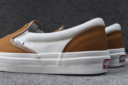 Vans vault classic slip on lx golden brown marshmallow for Progressive house classics