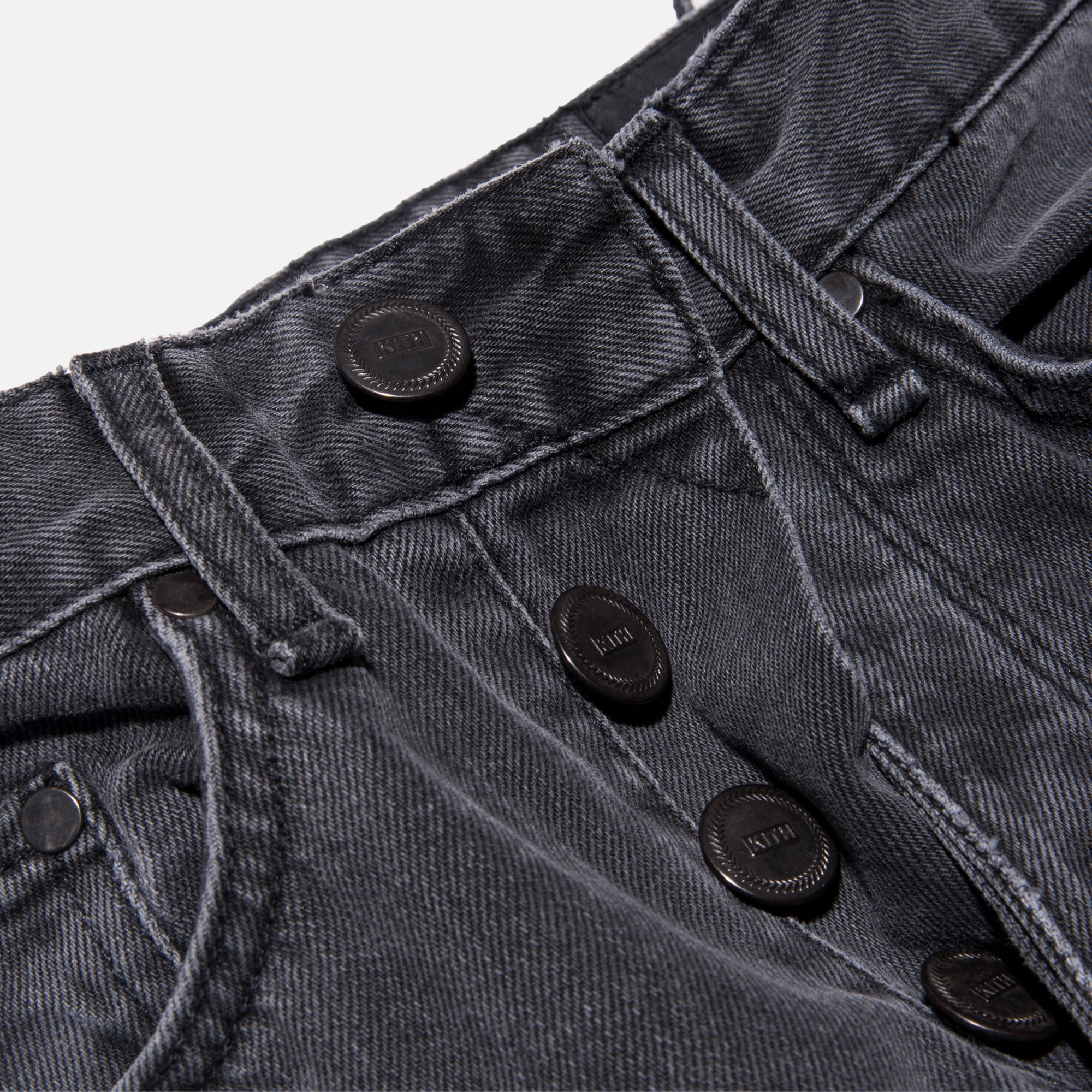 Kith Classics Varick Washed Denim - Black