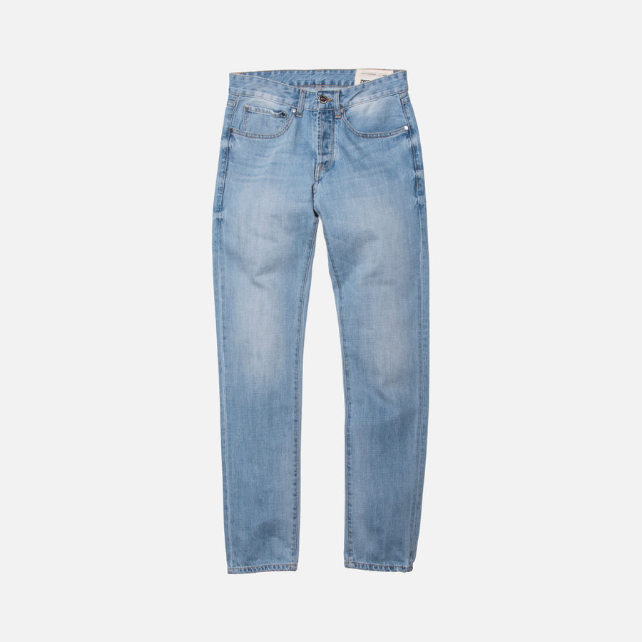 Kith Classics Varick Washed Denim - Light Blue