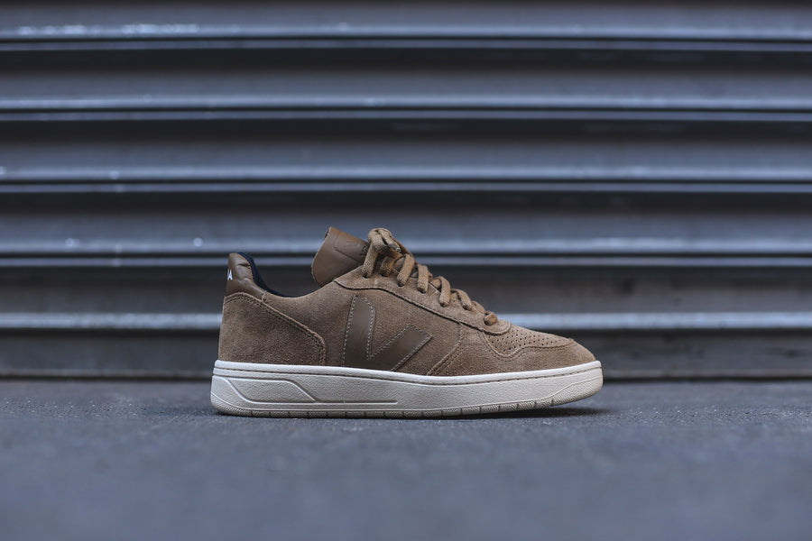 Veja V10 Low - Brown / Off White