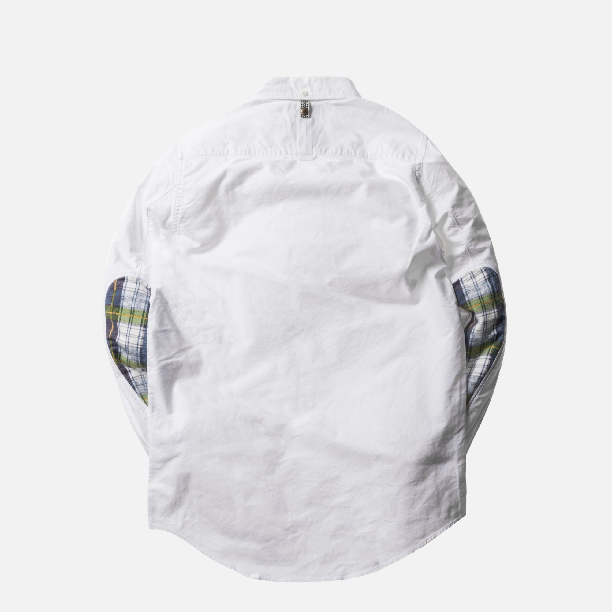Visvim Albacore Check Giz Ox Button-Up - White