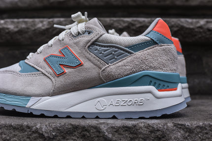 New Balance WMNS 998 - Sea Salt / Storm Blue