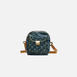 Louis Vuitton Denim Camera Bag - Blue