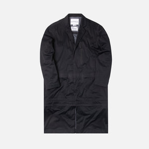 White Mountaineering Saitos 3L Technical Shirt - Coat Black