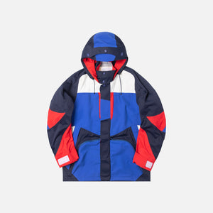 White Mountaineering Saitos 3L Raglan Parka - Navy