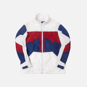 White Mountaineering Logo Taped Track Blouson - White