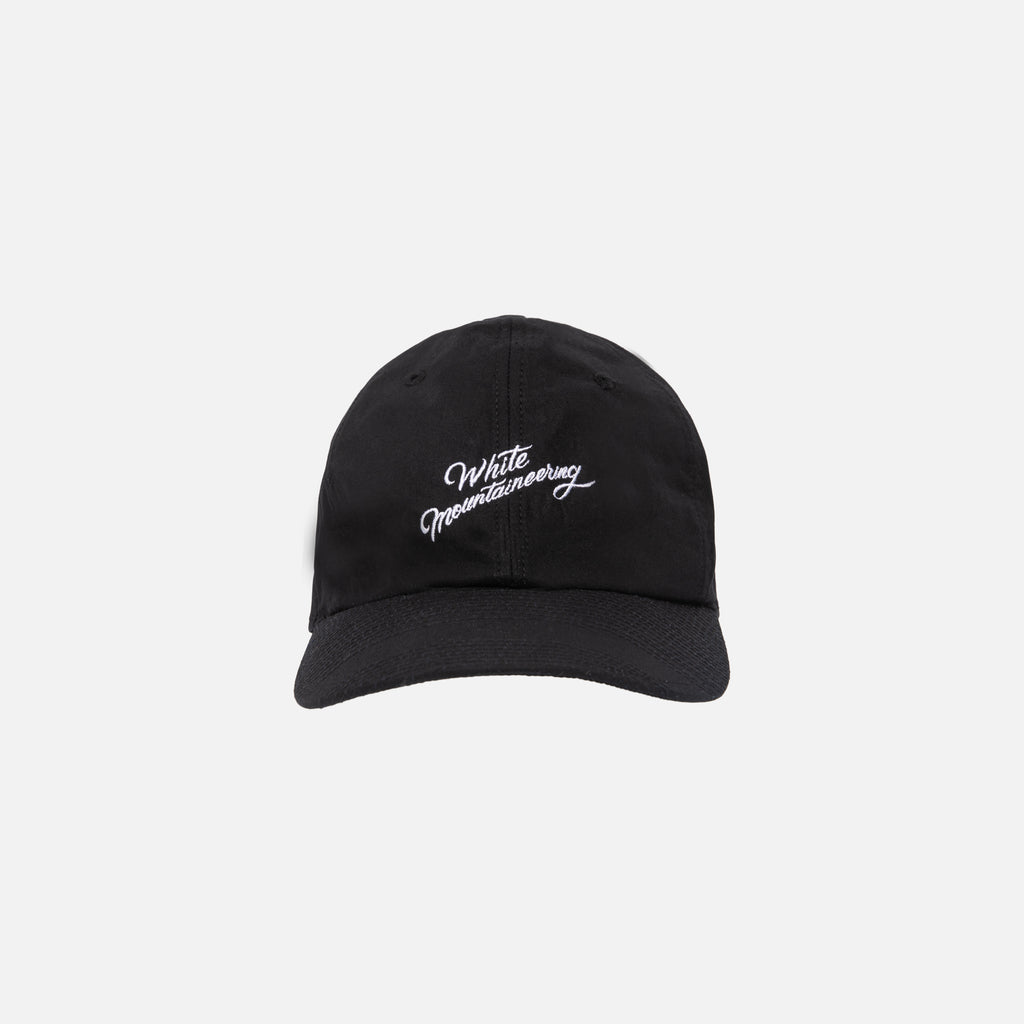 2d9a3904a77ce White Mountaineering Embroidered Baseball Cap - Black – Kith