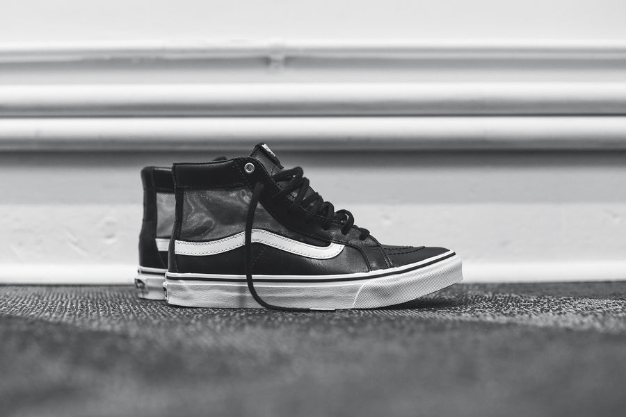 Vans WMNS Sk8-Hi Slim Cutout - Black / White