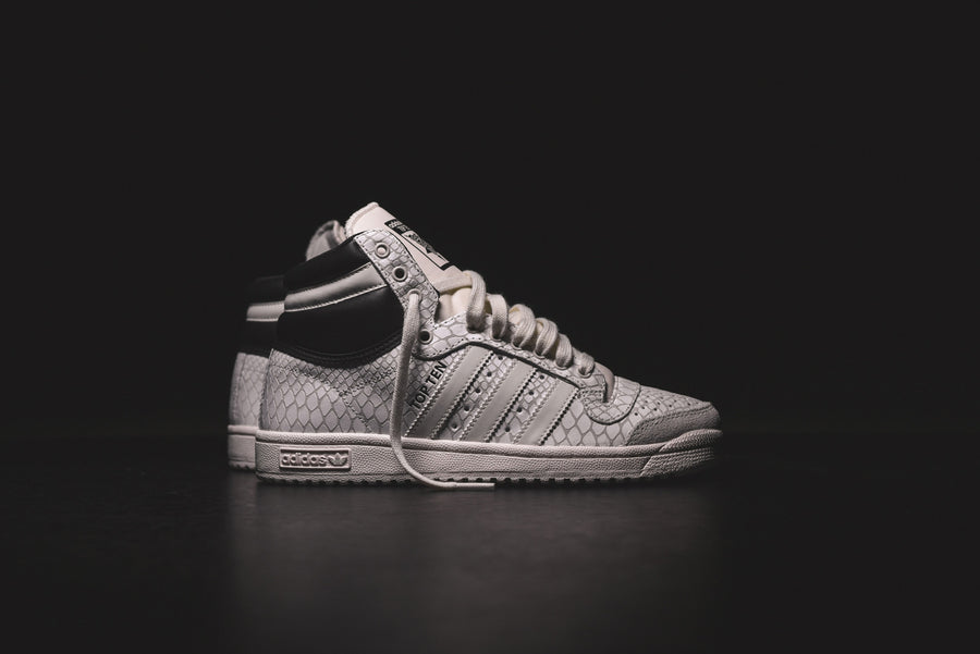 adidas Originals WMNS Top Ten Hi - Off-White Snake