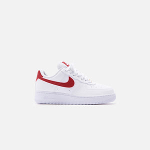 nike air force 1 white gymred