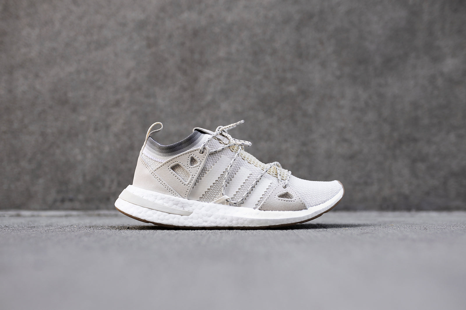 adidas Originals WMNS Arkyn - Chalk White   Cloud White   Gum – Kith 1152615dd442f