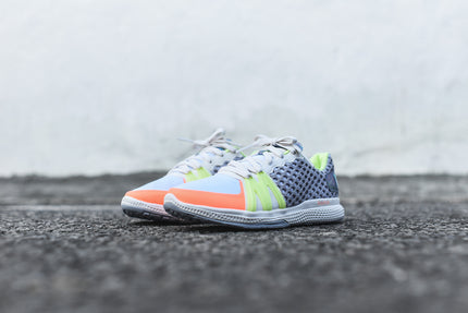 adidas by Stella McCartney Ively Trainer - Grey / Flash Orange / Neon