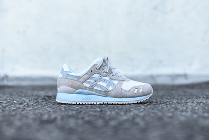Asics WMNS Gel Lyte III - White / Light Grey / Light Blue