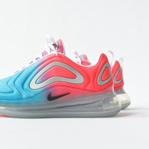 Nike WMNS Air Max 720 - Lava Glow / Black / Blue Fury