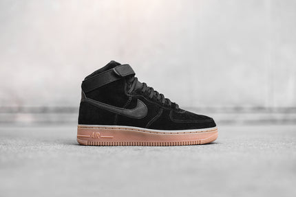 Nike WMNS Air Force 1 High SE - Black / Gum