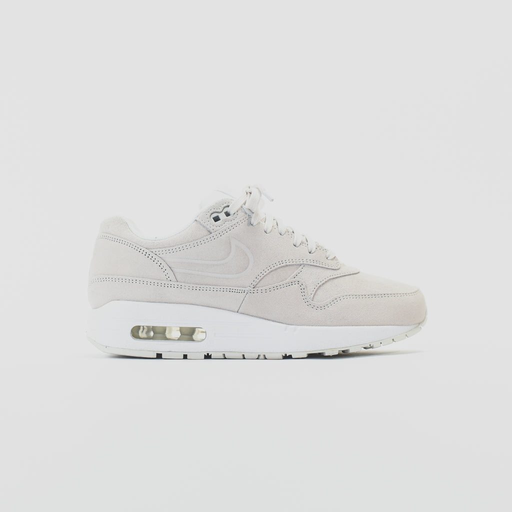 new style 50f1c b75ee Nike WMNS Air Max 1 PRM - Summit White   Platinum – Kith