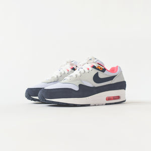 Nike WMNS Air Max 1 - White / Midnight Navy / Pure Platinum / Race