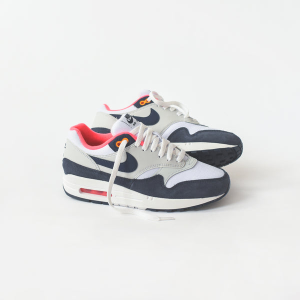 quality design 0e751 e3f40 Nike WMNS Air Max 1 - White  Midnight Navy  Pure Platinum  R