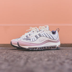 9a244f046a7d Nike WMNS Air Max 98 - Summit White   Violet Ash   Cool Grey