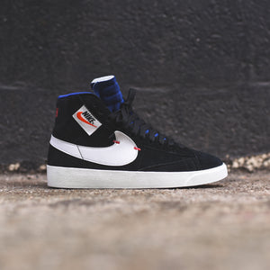 Nike WMNS Blazer Mid Rebel - Black / Summit White / Deep Royal Blue