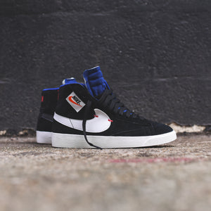 100% authentic 38859 bf649 Nike WMNS Blazer Mid Rebel - Black   Summit White   Deep Royal Blue