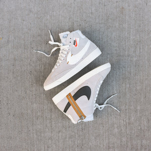 Nike WMNS Blazer Mid Rebel - Off White / Summit White / Pure ...
