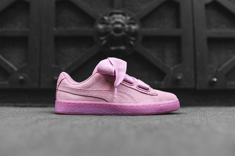 Puma WMNS Suede Heart Bow - Pink